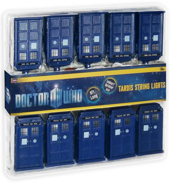 BBC Doctor Who Tardis Police Public Call Box String Lights - 9'