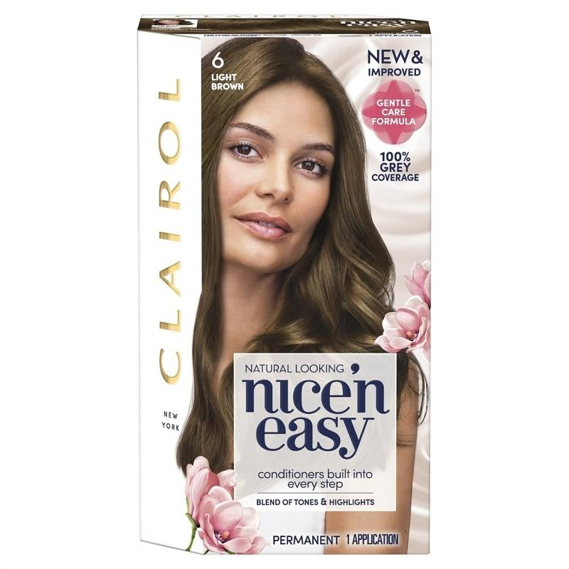Nice'n Easy Permanent Hair Dye - 6 Light Brown