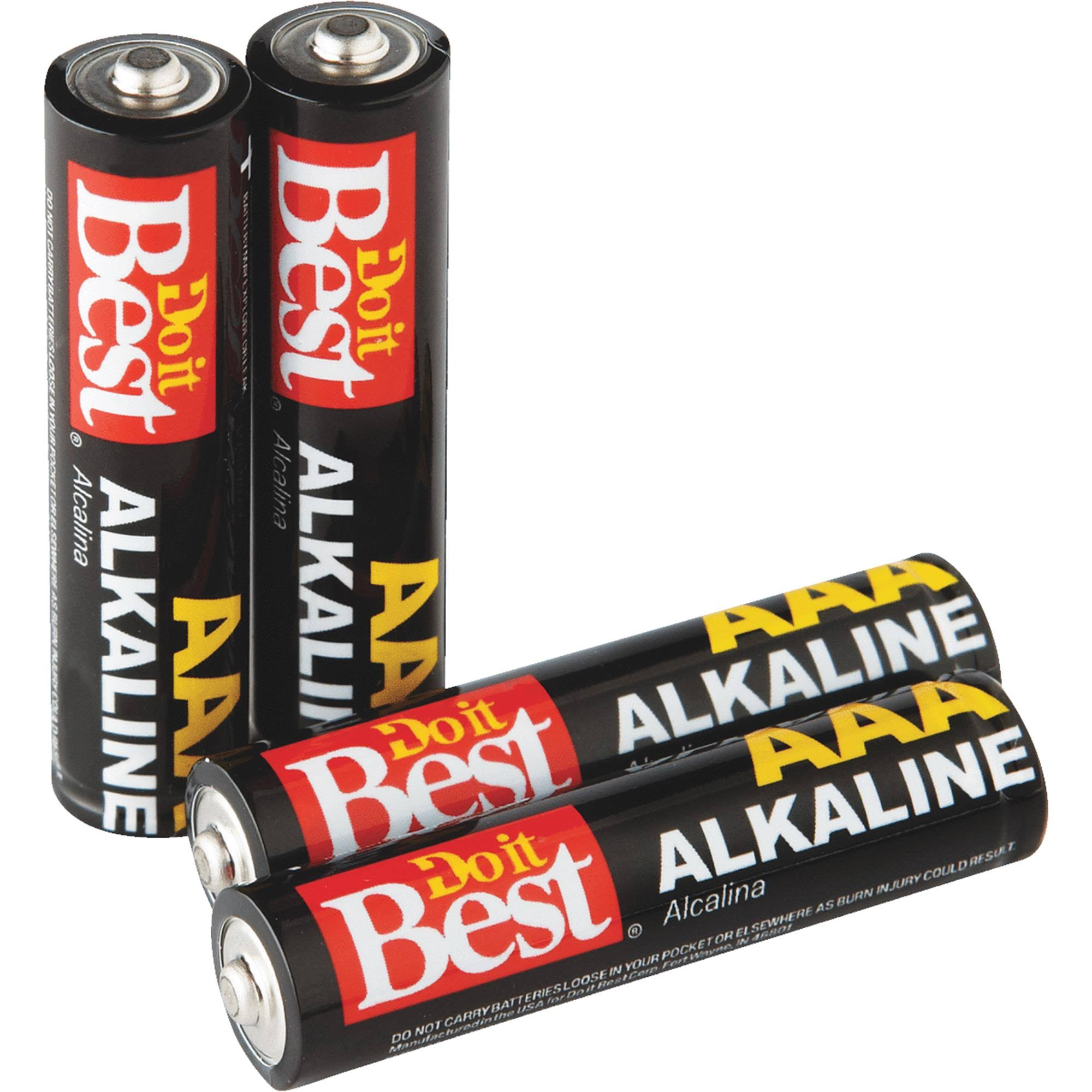 Do it Best Alkaline Battery - AAA