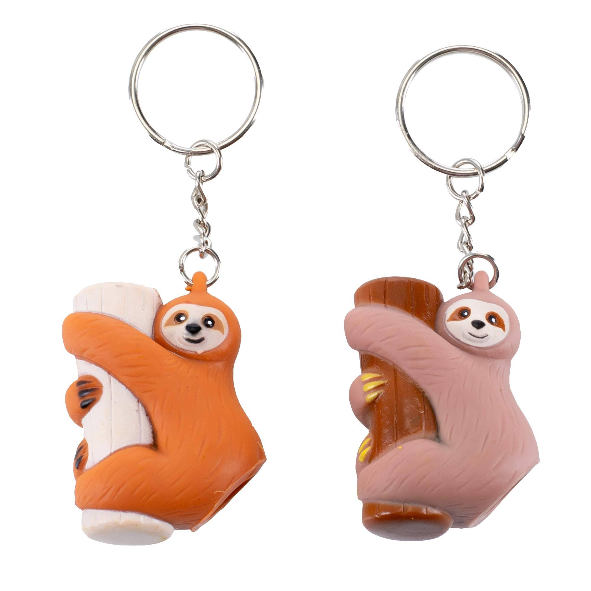 Master Toys Pooping Sloth Key Chain