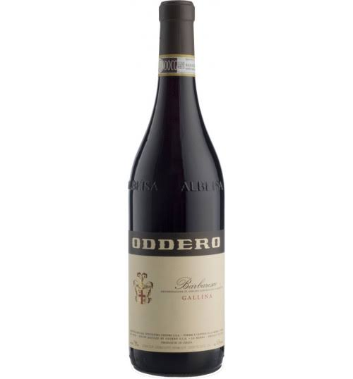 2008 Oddero Barbaresco Gallina Wine - Italy