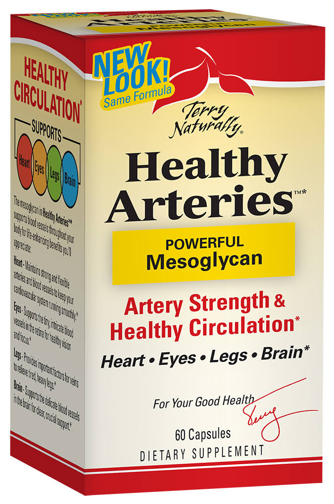 Terry Naturally Healthy Arteries Mesoglycan 60 Capsules