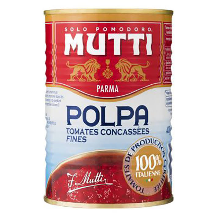 Mutti Finely Chopped Tomatoes - 400g