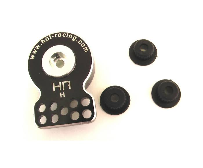 Hot Racing Heavy Duty Aluminum Servo Saver - Black