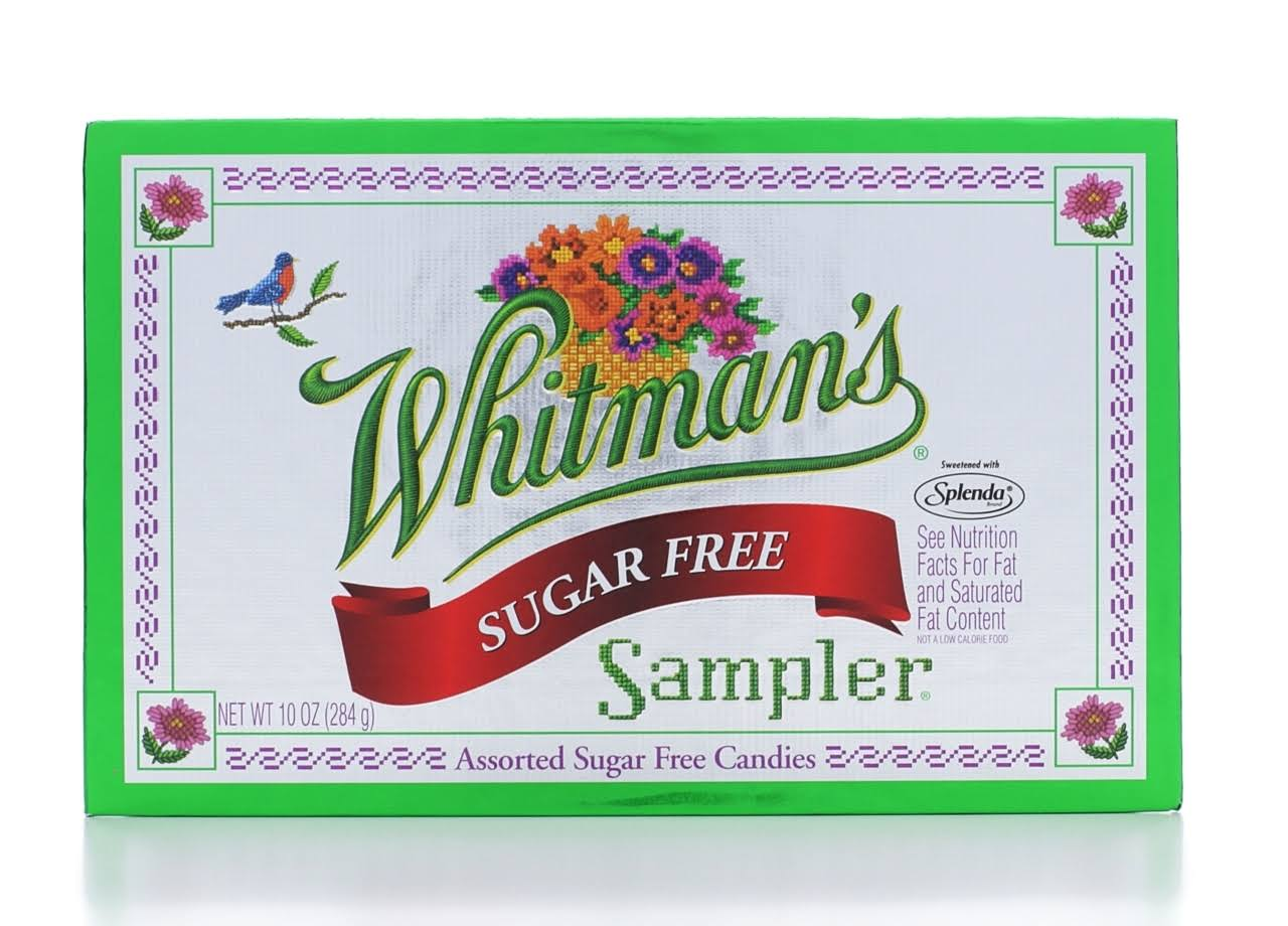 Whitmans Sampler Candies, Sugar Free, Assorted - 10 oz