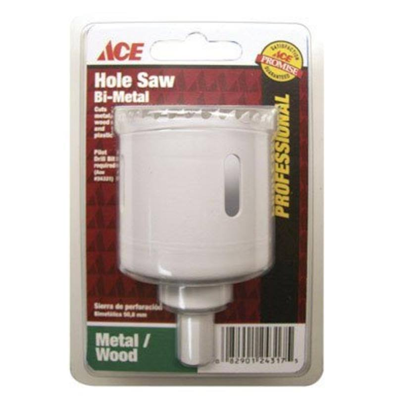 Ace Hole Saw, Bi-Metal, 2 Inches