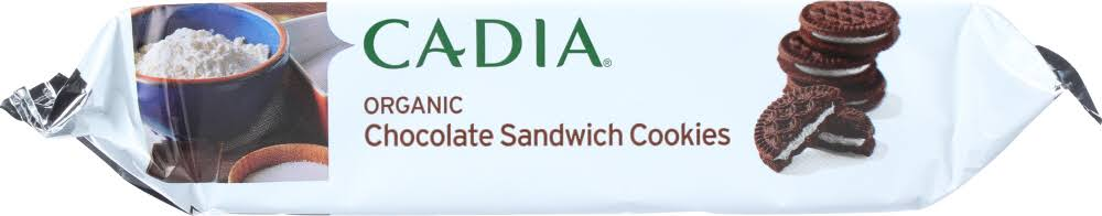 Cadia Organic Chocolate Sandwich Cookie 10.5 oz