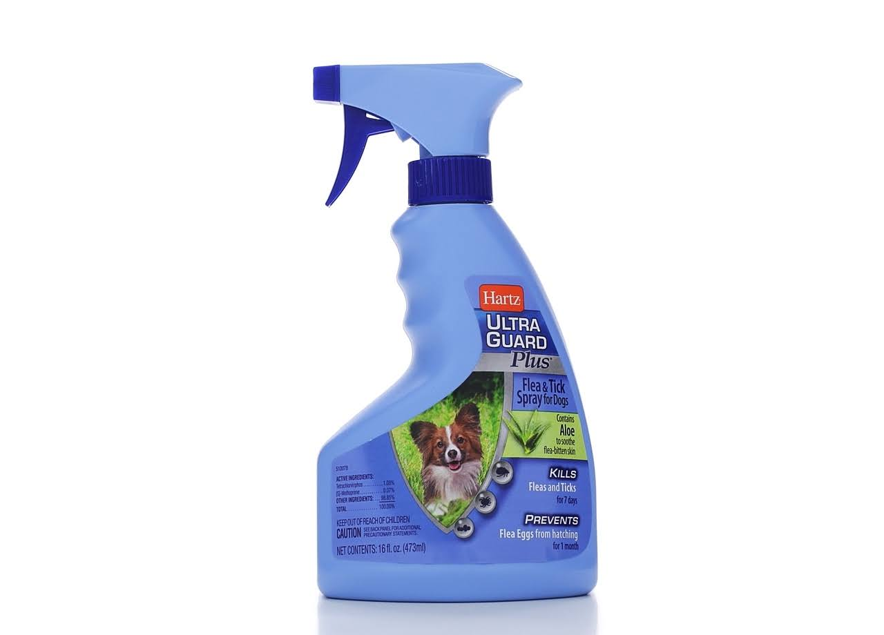 Hartz Ultra Guard Plus Dog Flea and Tick Spray - 16oz