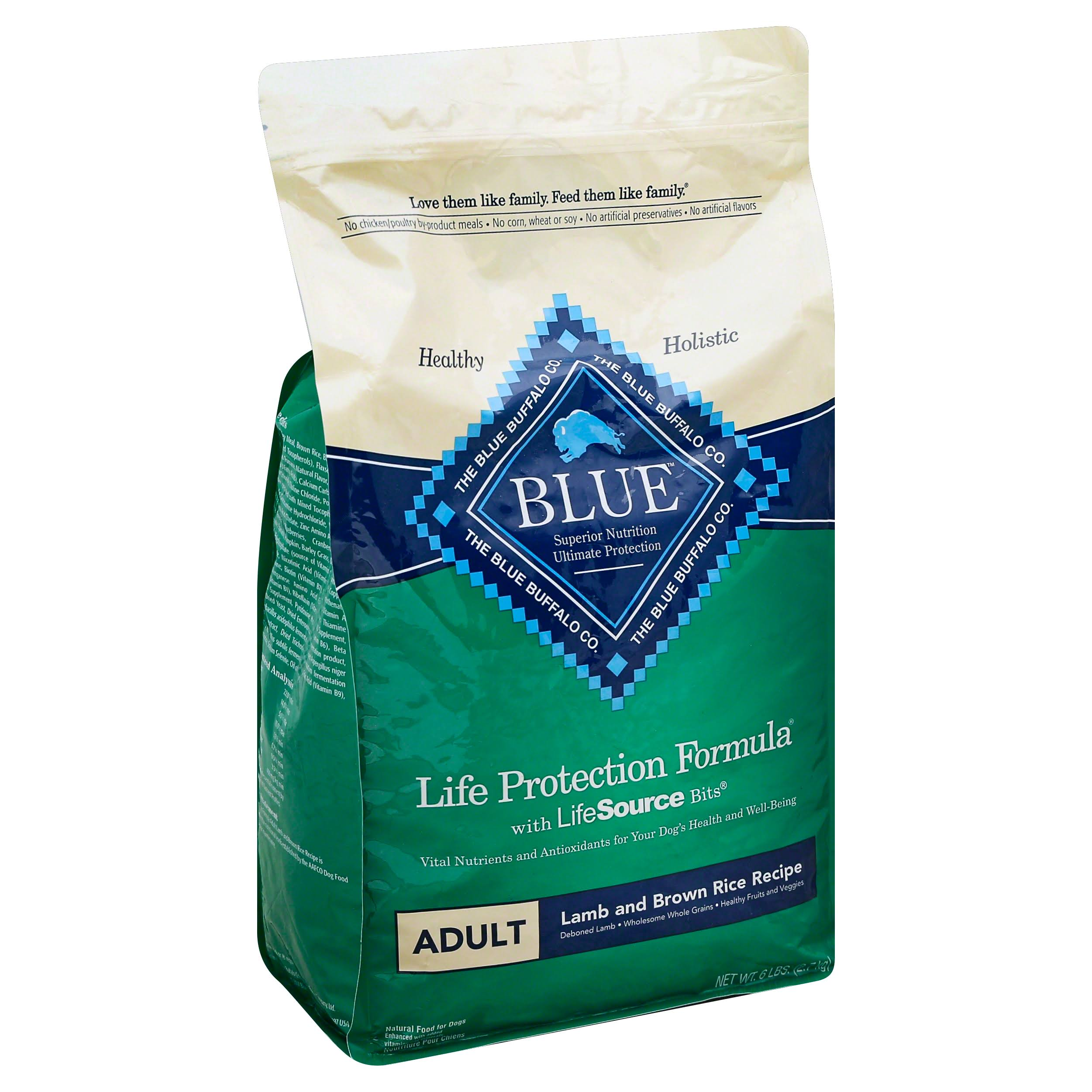 Blue Buffalo Life Protection Dry Adult Dog Food - Lamb & Brown Rice