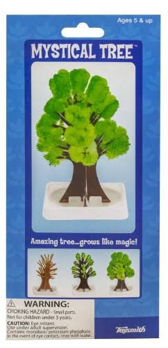 Toysmith Growing Crystal Mystical Tree Kit