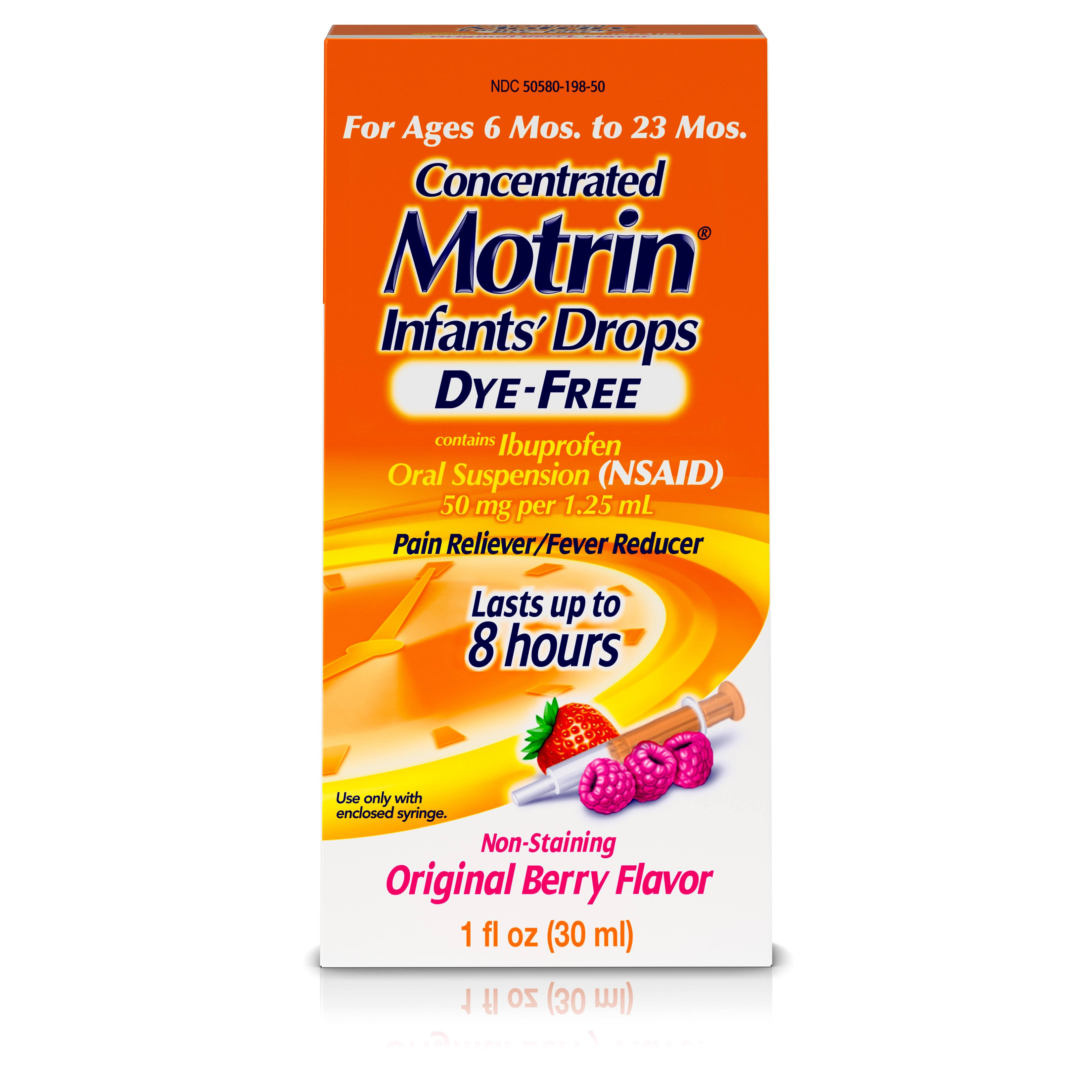 Motrin Concentrated Original Infants Drops - Berry Flavor, 1oz