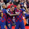 Barcelona sufre un traspié ante Espanyol en el derbi catalán
