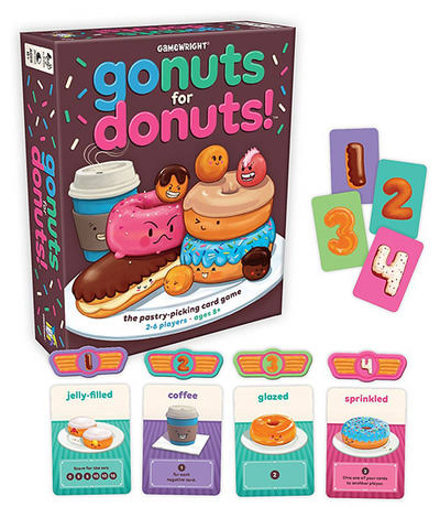 Gamewright: Go Nuts For Donuts!