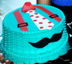 Cake Decoration Ideas For A Man by Baby Shower Blue Lil U0027 Man Mustache Decorations Ideas Cake