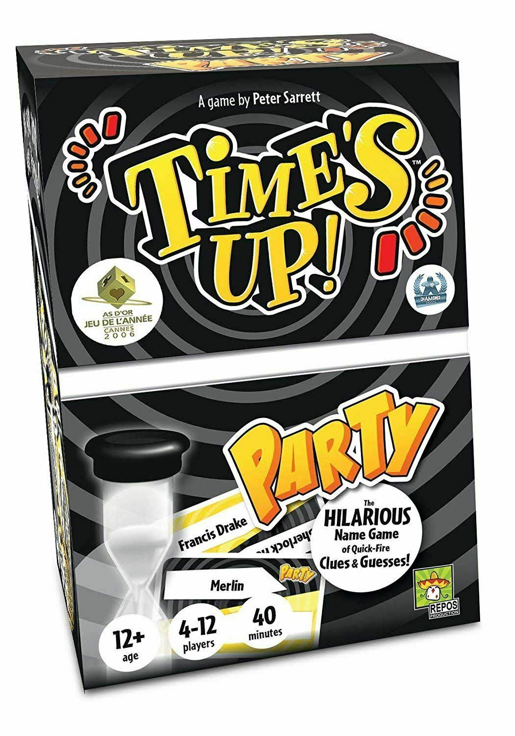 Repos Time's Up Party UK Edition