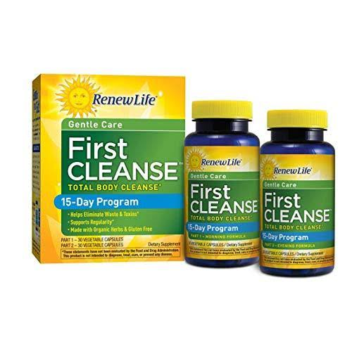 Renew Life First Cleanse Supplement - 30 Vegetable Capsules