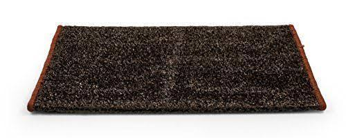 Camco 42938 Premium Wrap Around RV Step Rug, Turf Material (22 inch x 20 inch), Brown