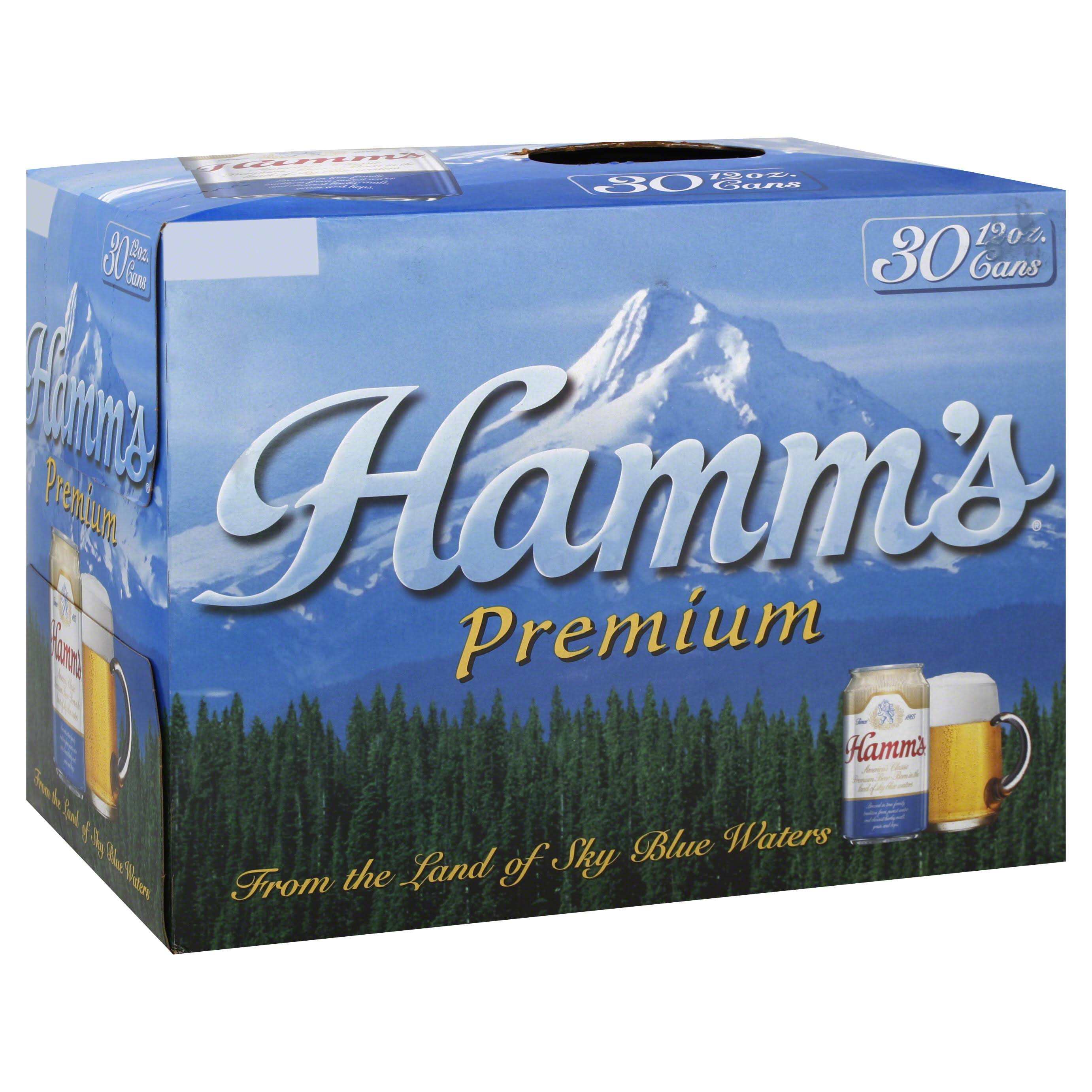 Hamm's Beer - 30 Pack