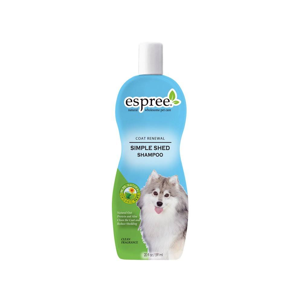 Espree Simple Shed Dog Deshedding Shampoo - 12oz