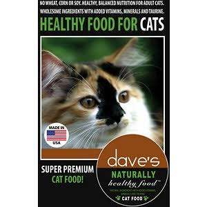 Dave's Naturally Healthy Cat Food - Dry, 4lbs