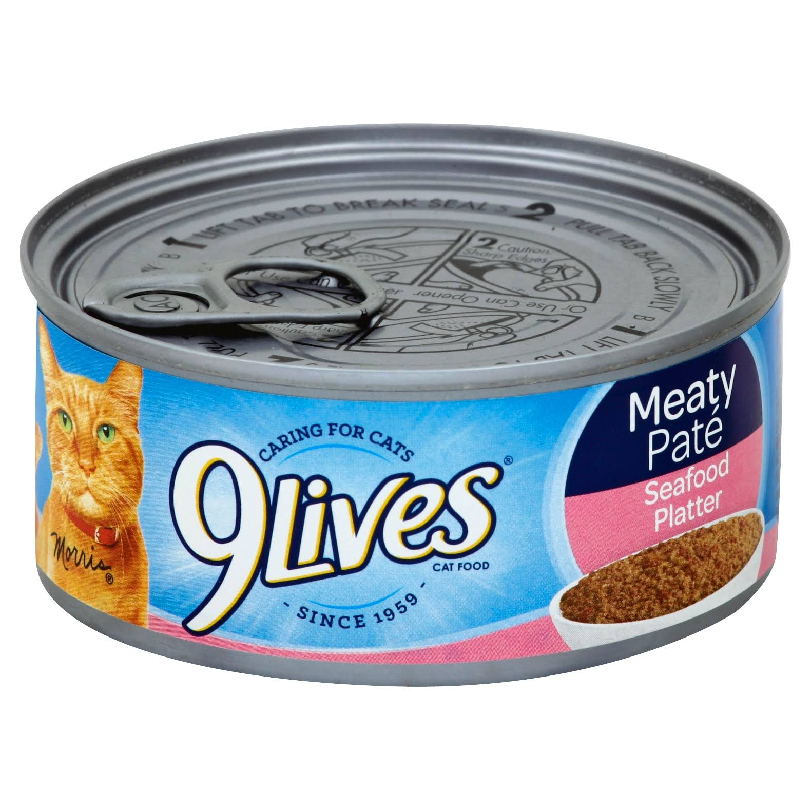 9Lives Cat Food - Seafood Platter, 5.5oz