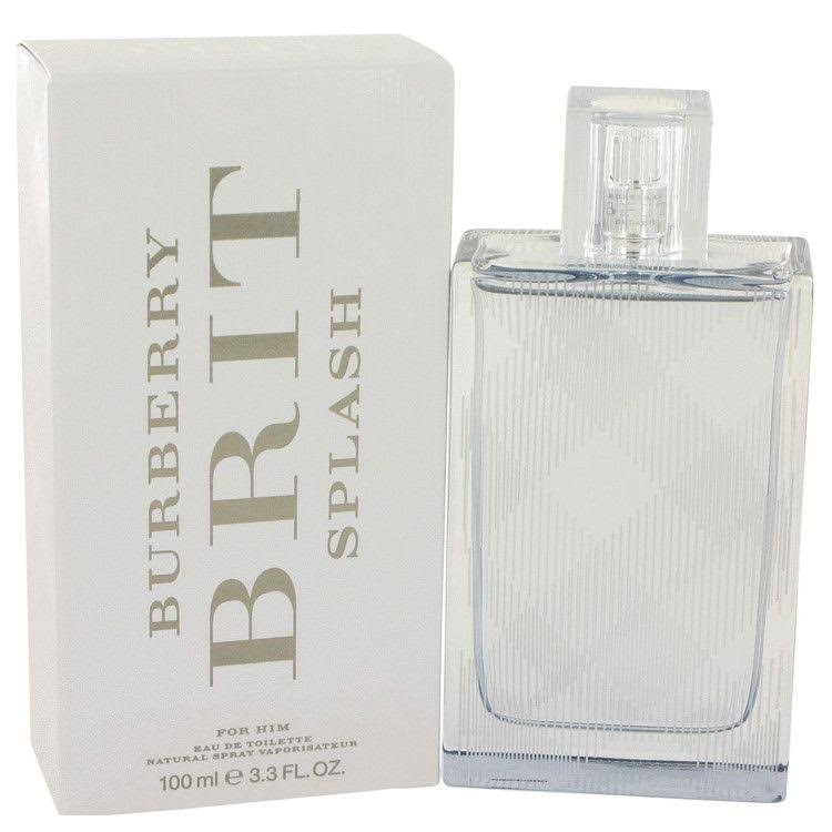 Burberry Brit Splash Eau de Toilette Spray for Men - 3.3oz