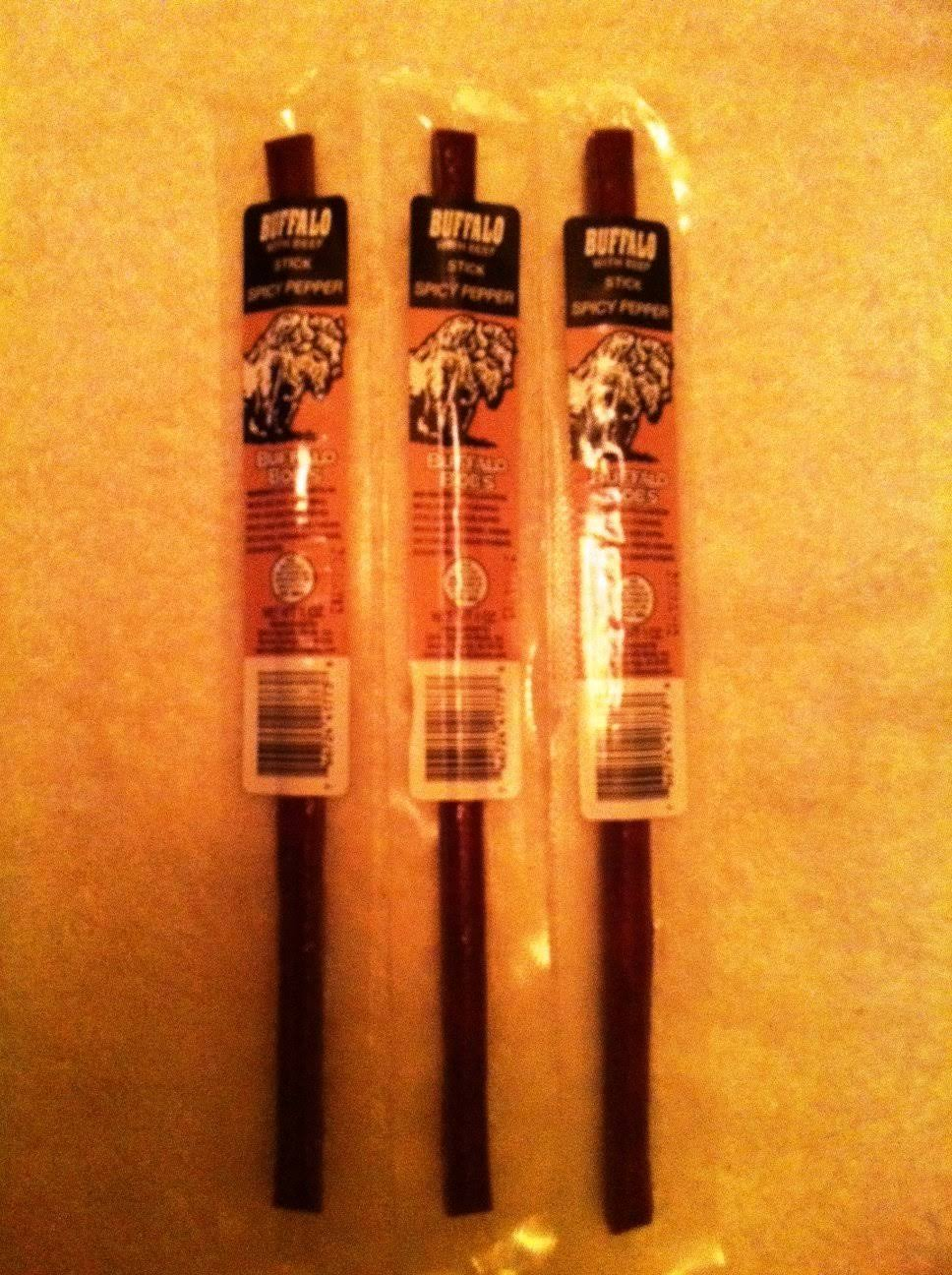 Buffalo Bobs Wild Game Beef Jerky Buffalo Pepper Stick