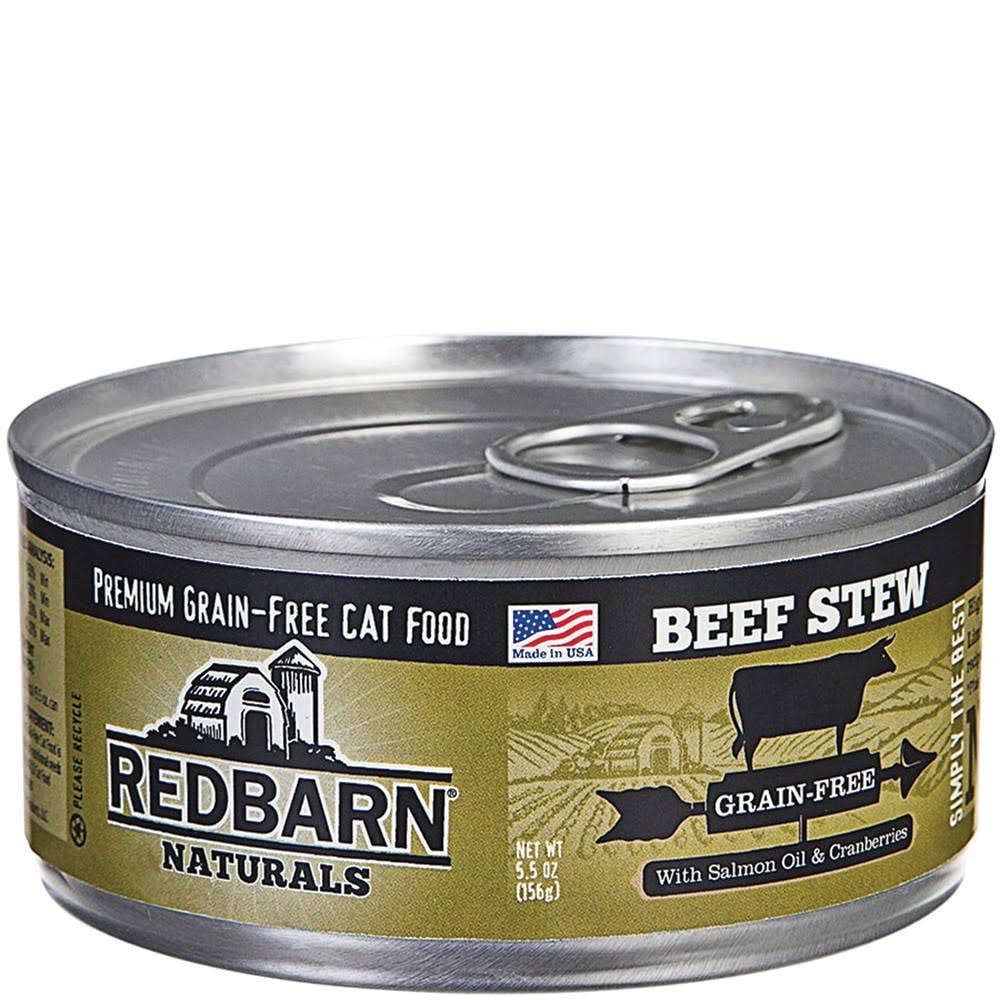 Redbarn Naturals Premium Grain-Free Cat Food - Beef Stew, 5.5oz