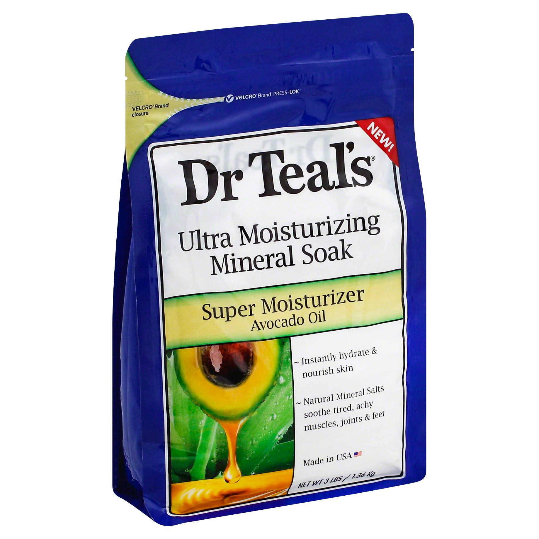 Dr Teal's Avocado Oil Ultra Moisturizing Mineral Soak
