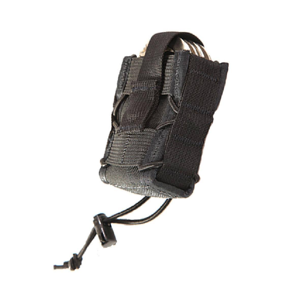 "High Speed Gear Molle Compatible Handcuff Taco - Black, 3"" x 4.5"""
