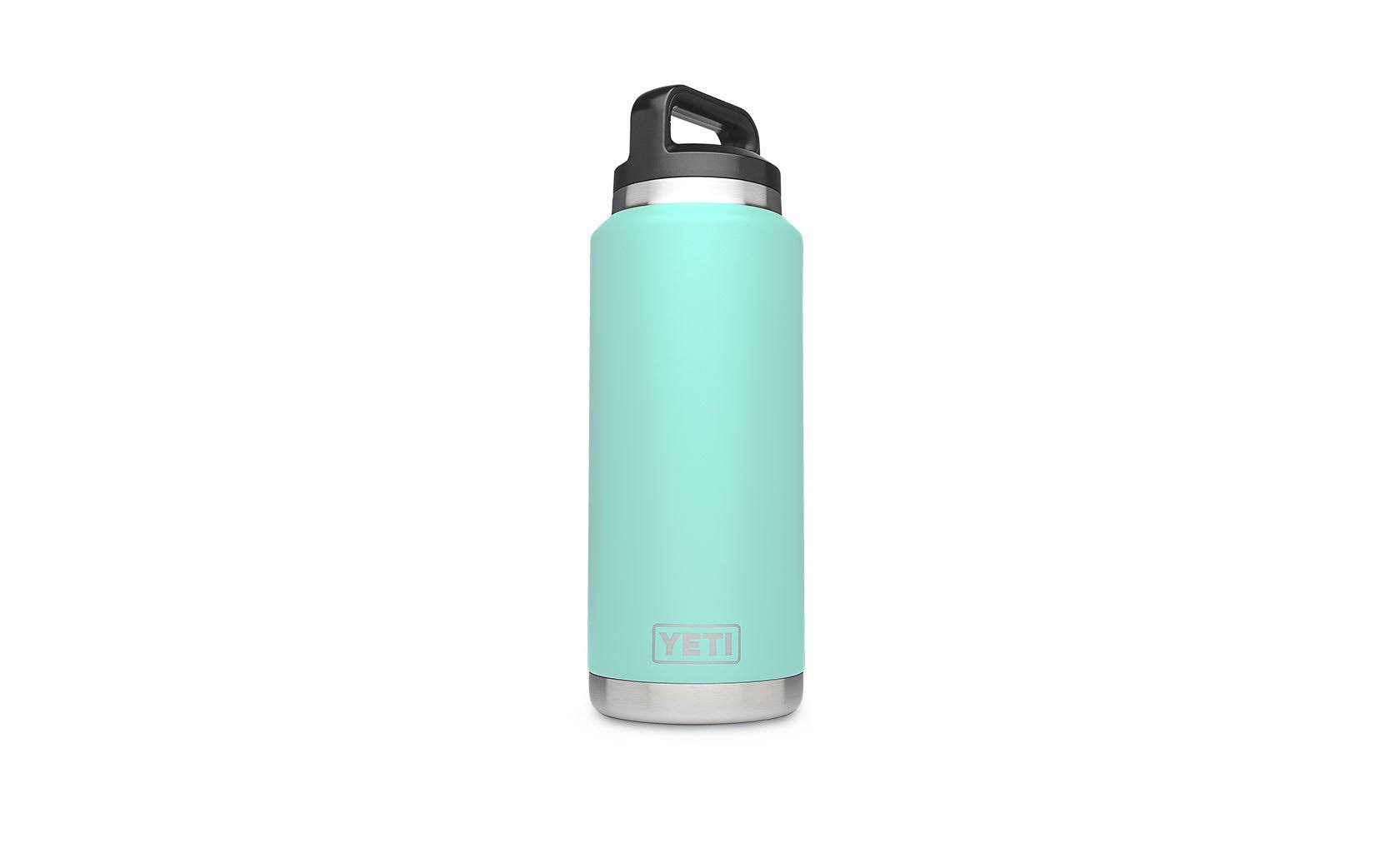 Yeti Rambler Water Bottle - Seafoam, 36oz