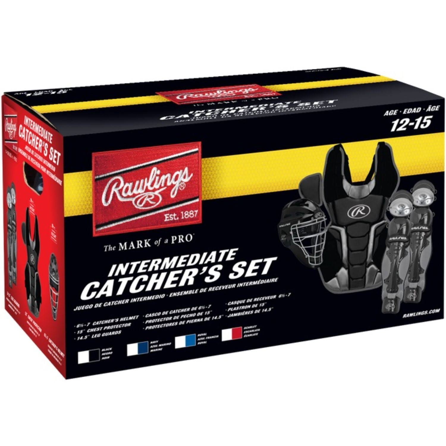 Rawlings Renegade Youth Catchers Set - Black, Ages 12-15 Years