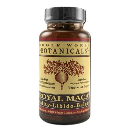 Whole World Botanicals Royal Maca - 500 mg, 60 Vcaps
