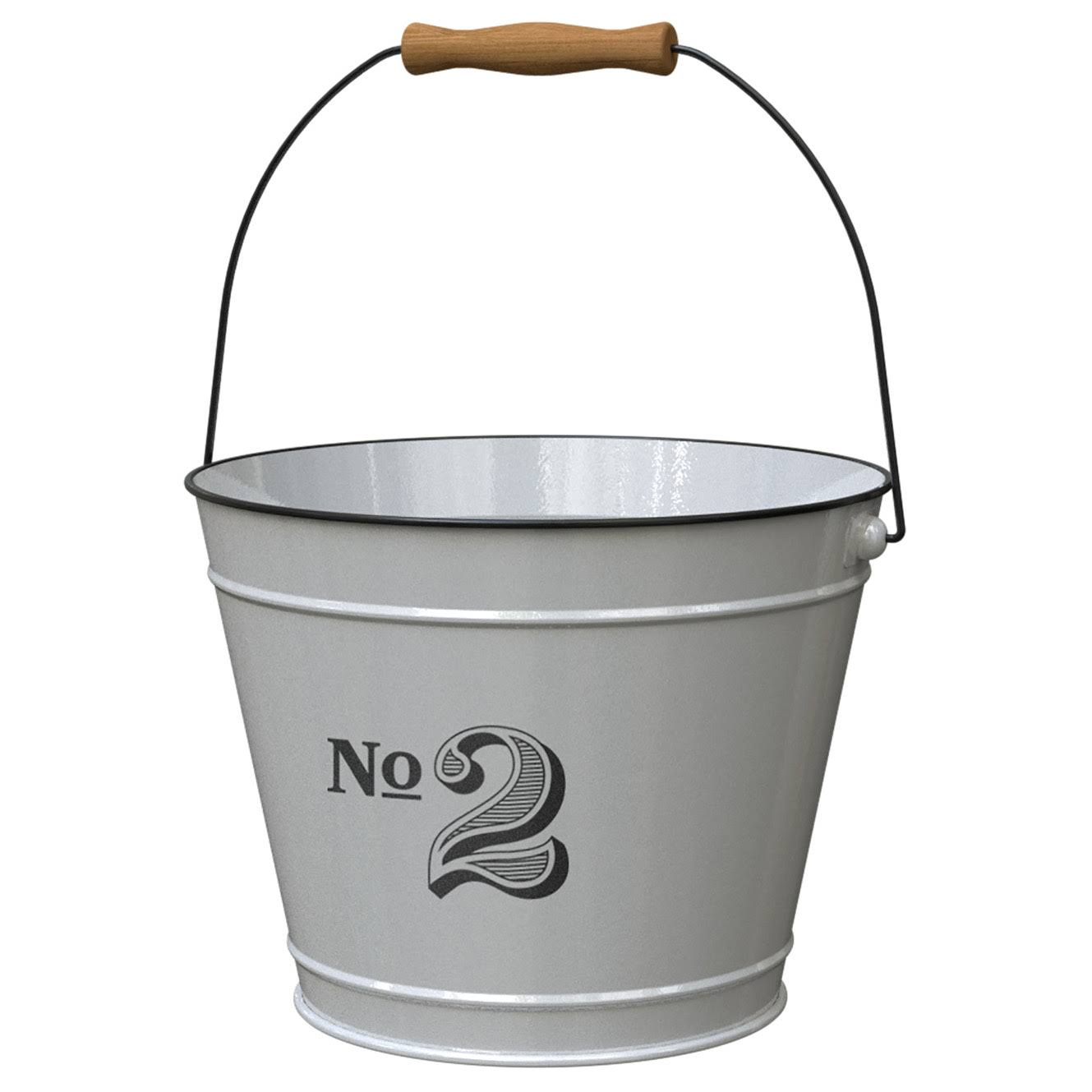"Panacea No. 2 Vintage 10"" Milkhouse Bucket Planter"