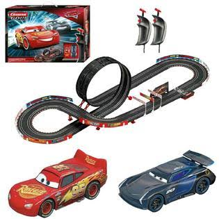 Carrera Go 62476 Disney Pixar Cars Speed Challenge Electric Slot Car Racing Track Set 1:43 Scale