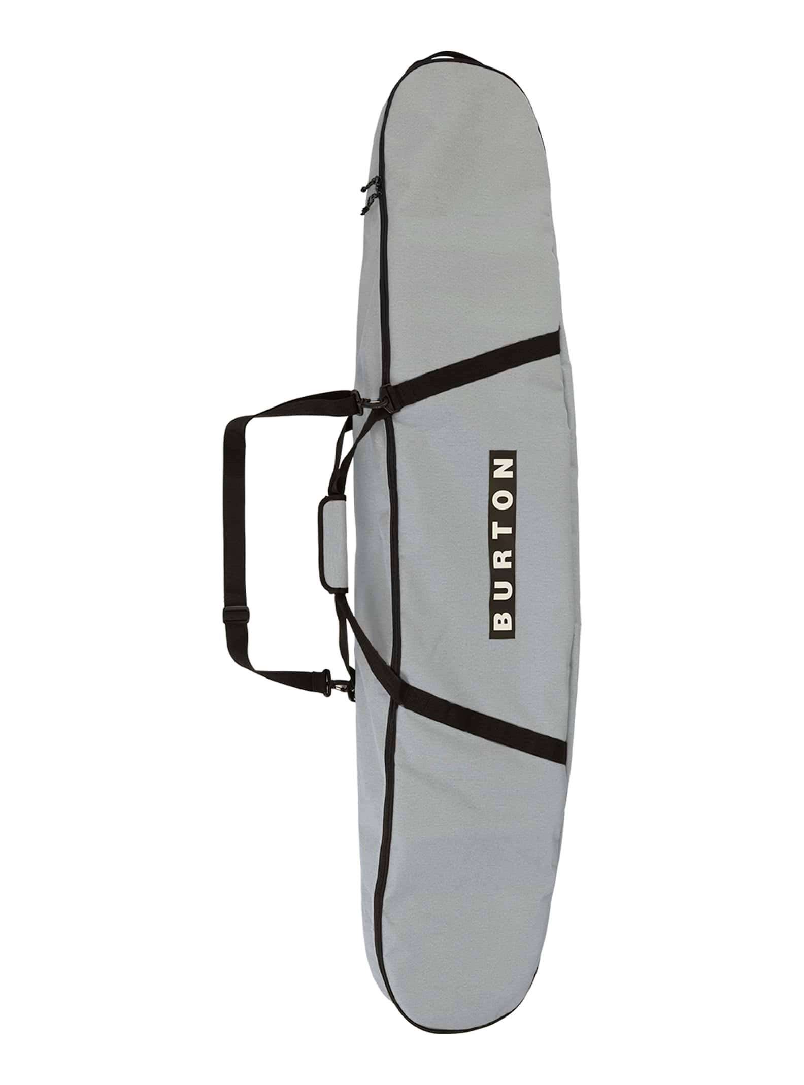 Burton Space Sack Board Bag 2020 Gray Heather Print 156