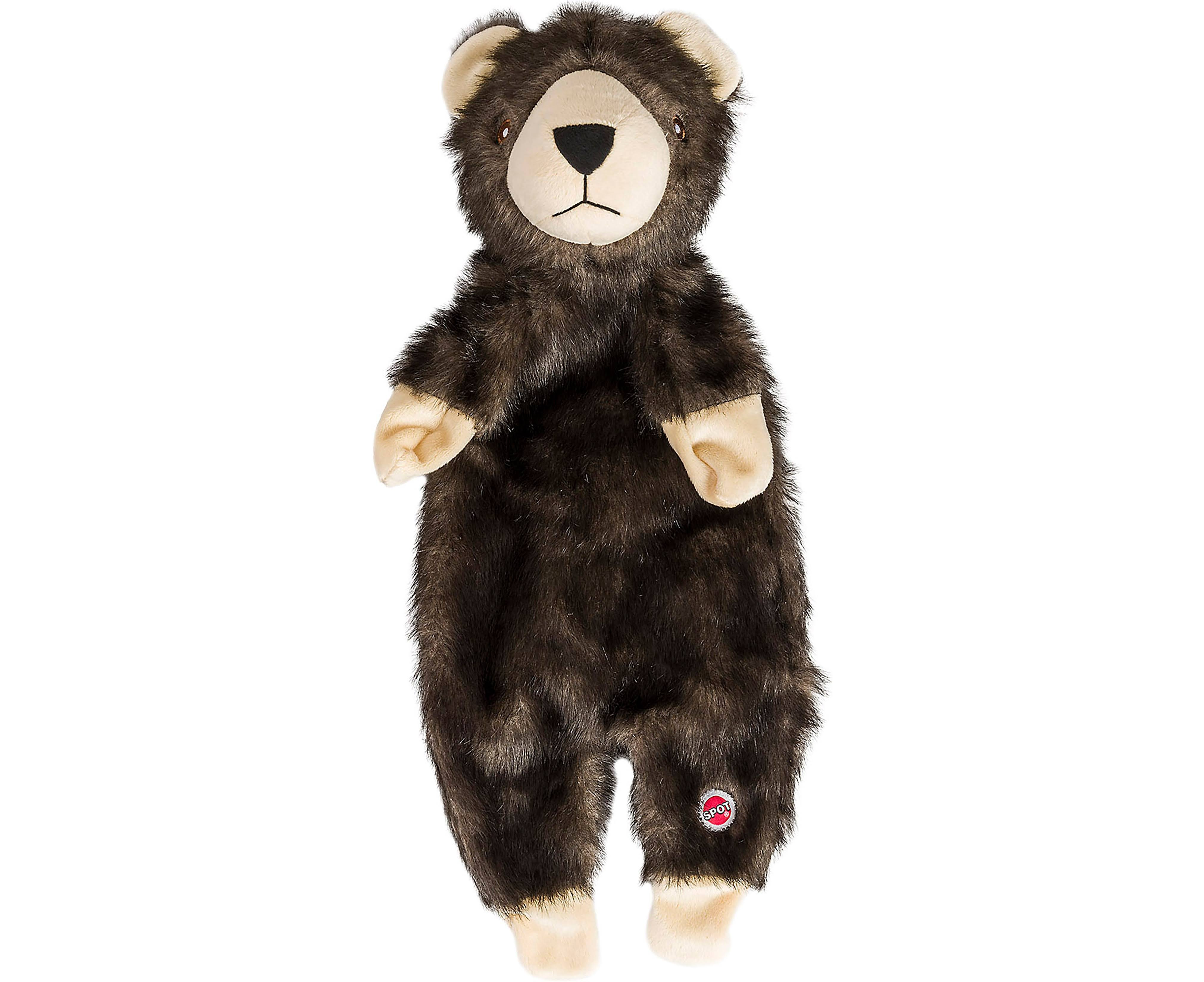 Spot Furzz Bear Plush Dog Toy 13.5""