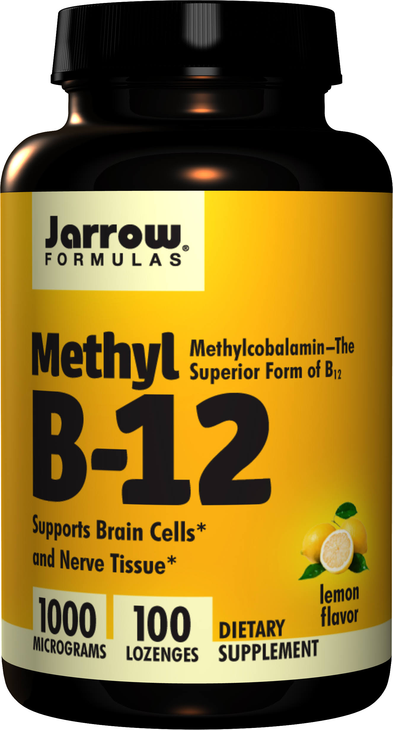 Jarrow Formulas Methyl B-12 Dietary Supplement - 1000mcg, 100 Lozenges