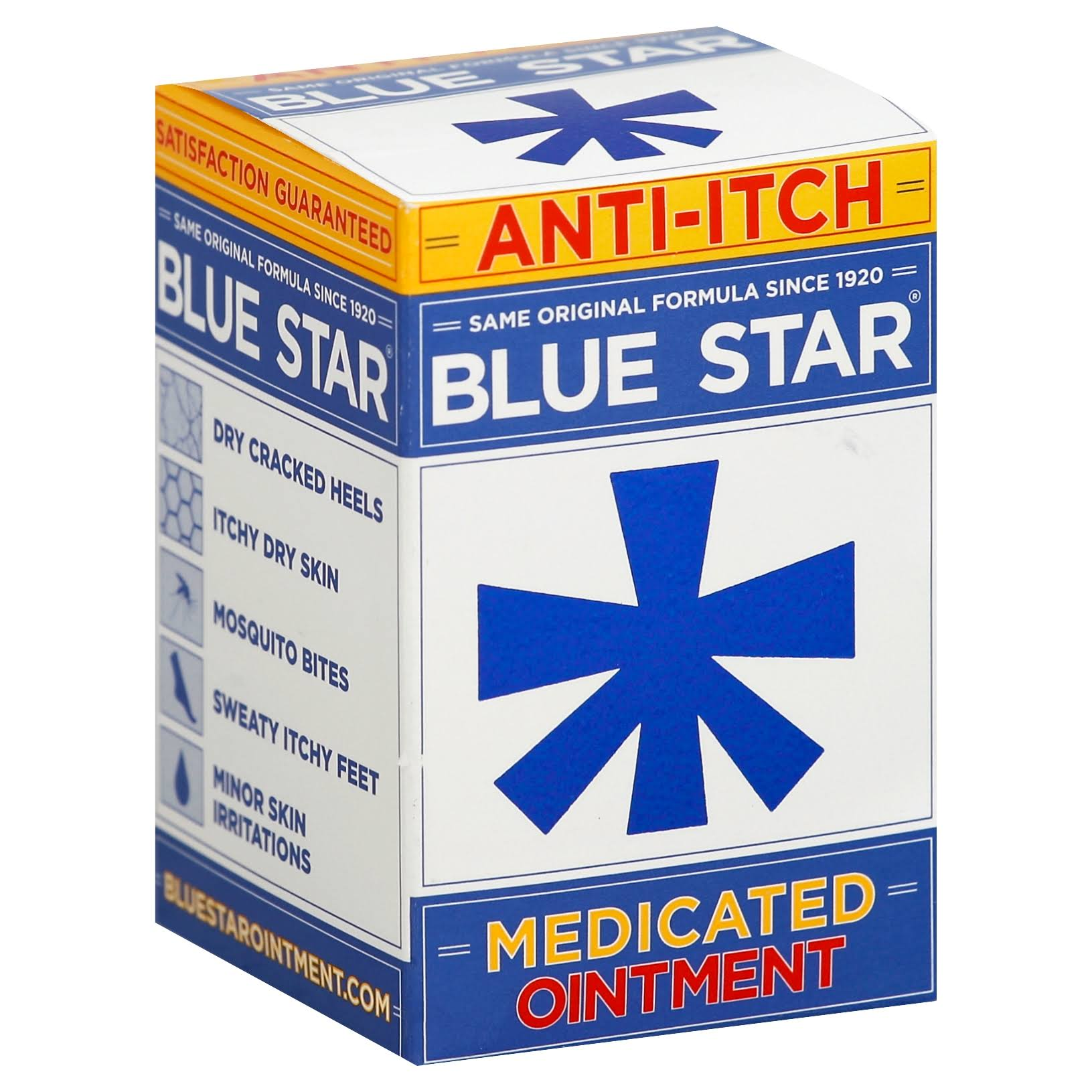 Blue Star Anti Itch Medicated Ointment - 2oz