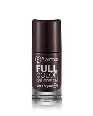 Flormar Full Color Nail Enamel - FC44 Tropic Brown, 8ml