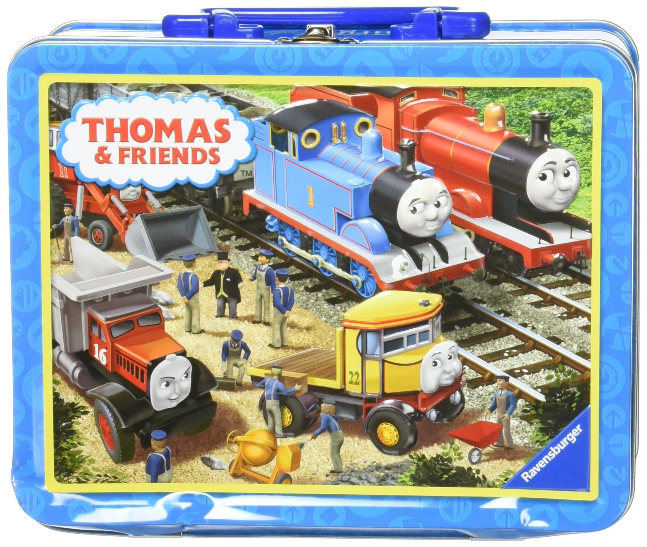Thomas and Friends Making Repairs Puzzle in a Tin