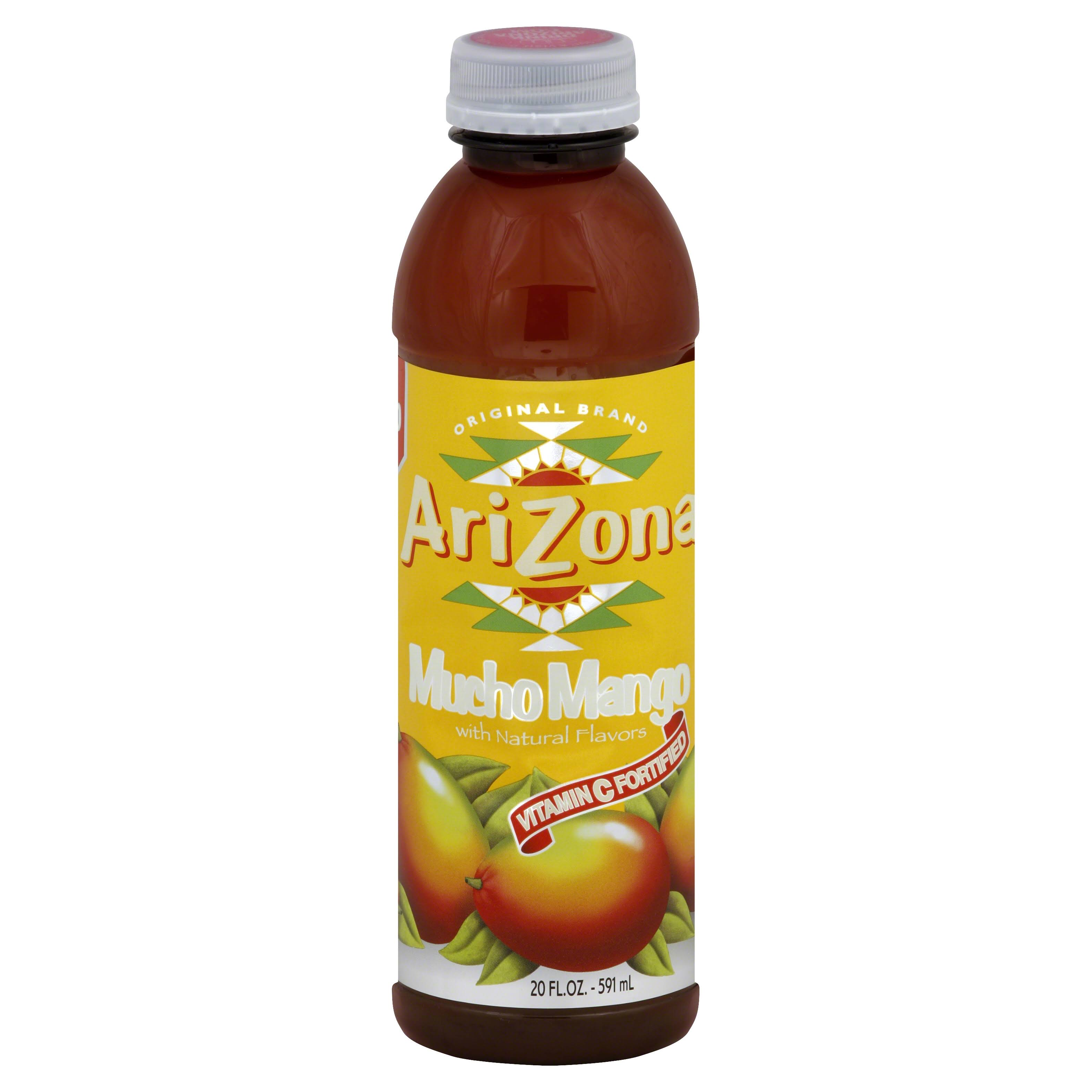 Arizona Mucho Mango Fruit Juice - 20oz