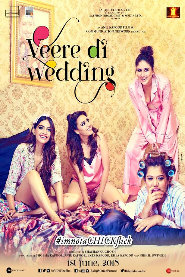 Veere Di Wedding 2018 Hindi Movie Download HD Pre DVDRip 300MB And 900MB