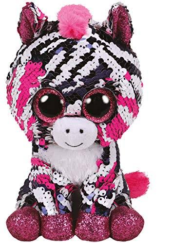 Ty Flippables Sequin Pink Zebra - Zoey