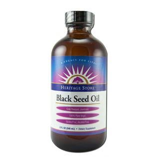 Heritage Store Black Seed Oil - 8oz