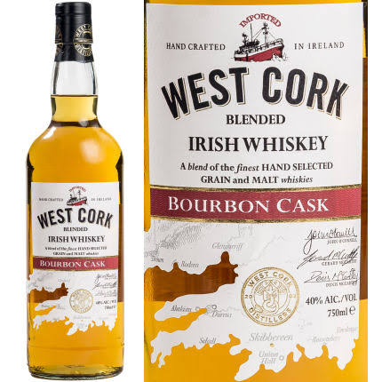 West Cork Irish Whiskey Bourbon Cask