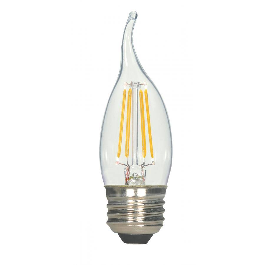 Satco LED Bulb - 2.8W, White