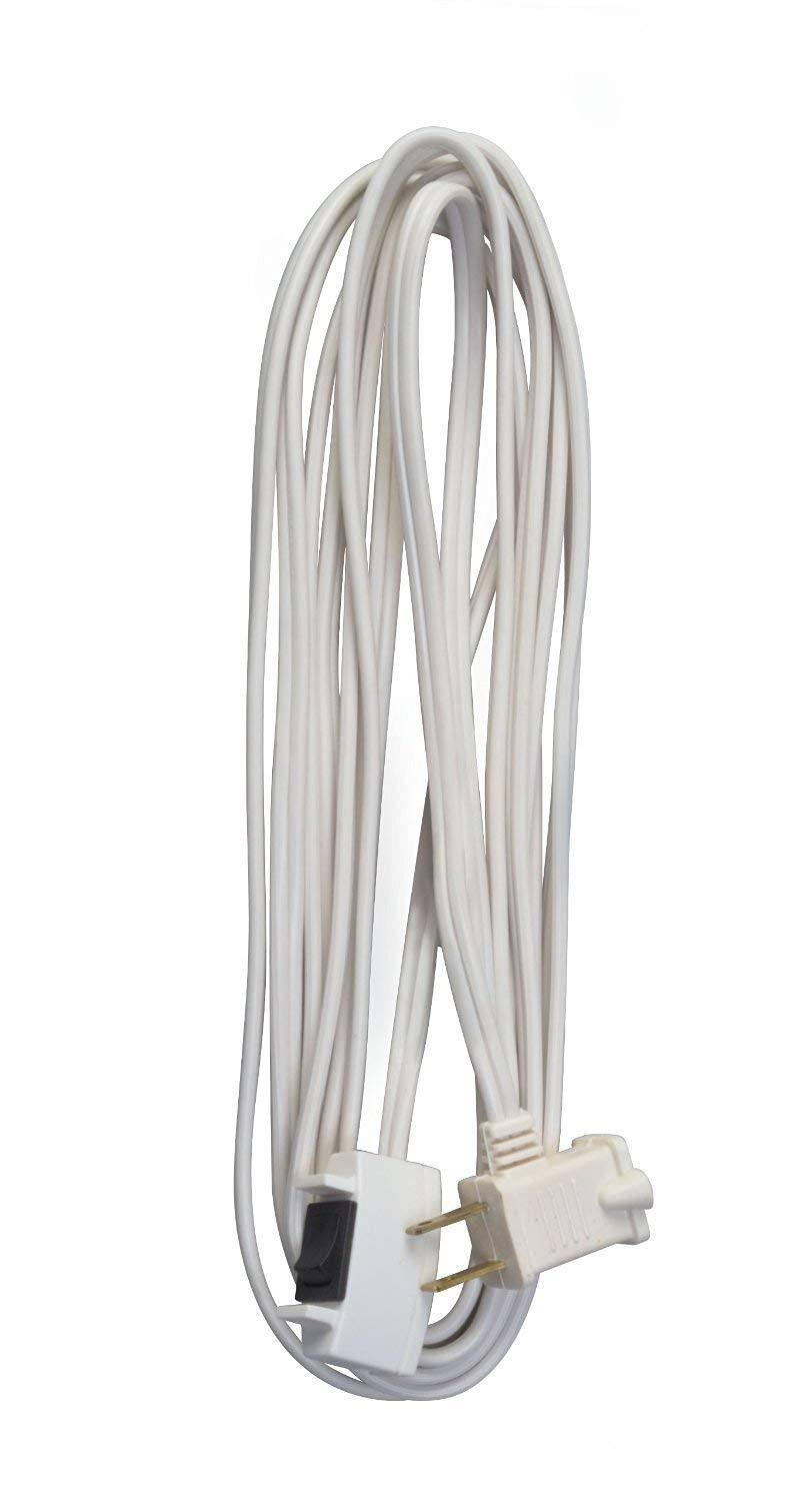 Coleman Cable Extension Cord - White