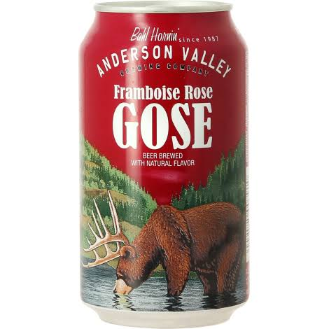 Anderson Valley Beer, Framboise Rose Gose - 6 pack, 12 fl oz