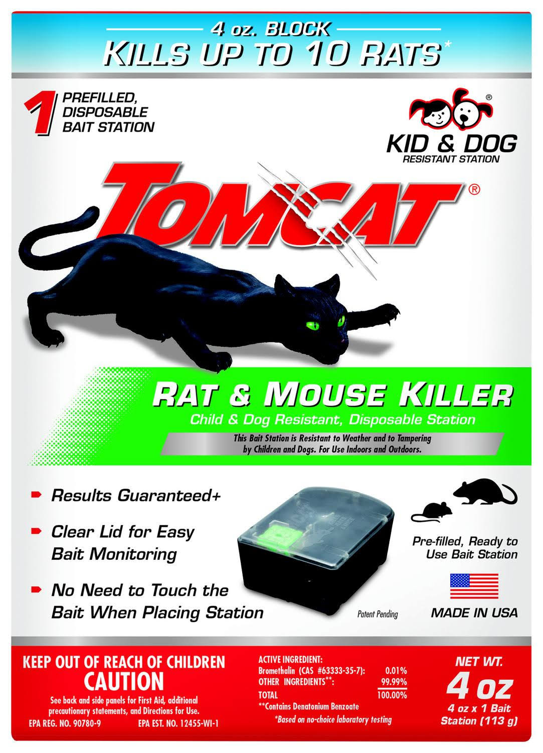 Tomcat Rat & Mouse Killer Bait Station